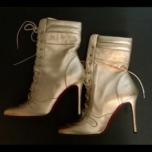 LOUBOUTIN!  Sexy hot boots